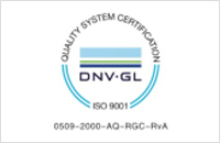 Puyou has the ISO9001 approval issued by Det Norske Veritas(DNV)